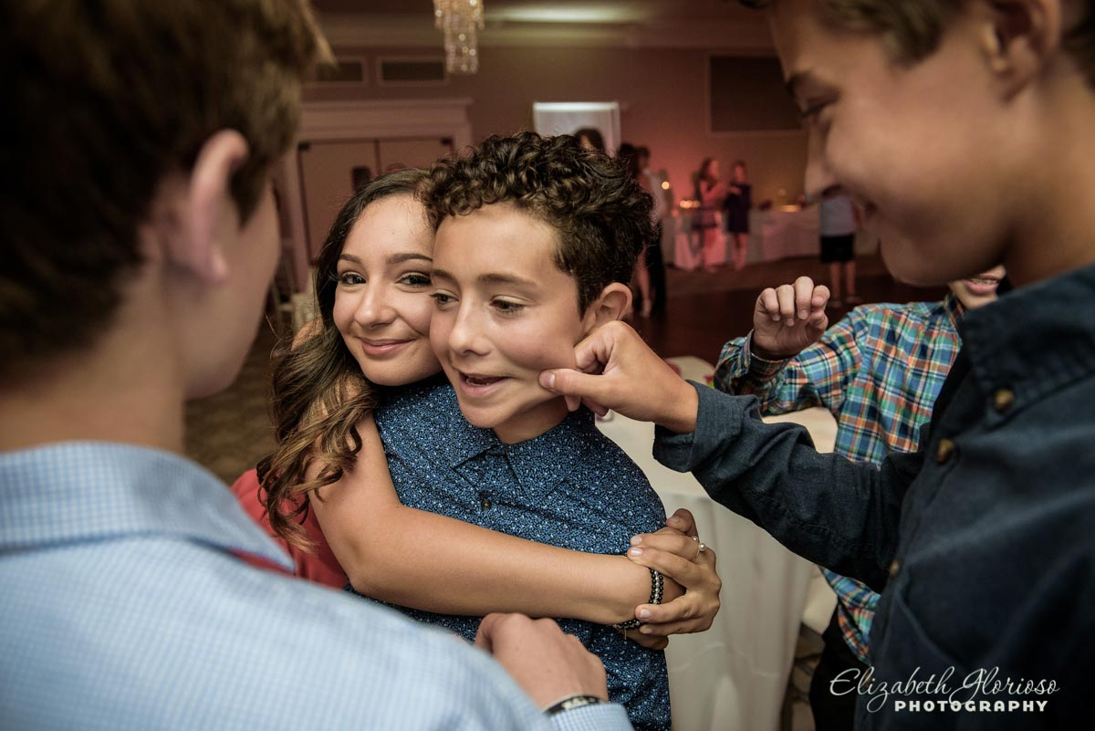 Bat Mitzvah funny candid Beechmont Country Club Pepper Pike Ohio