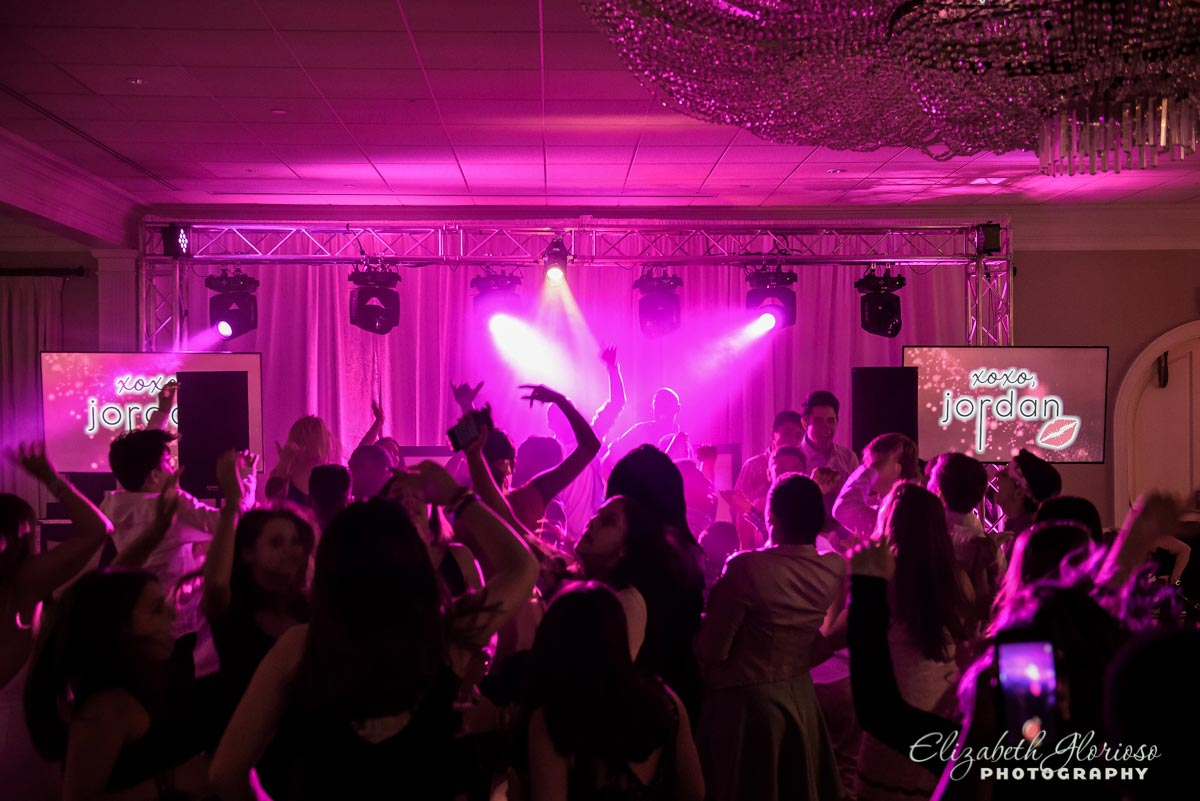 Dance Party Bat Mitzvah Beechmont Country Club Pepper Pike Ohio