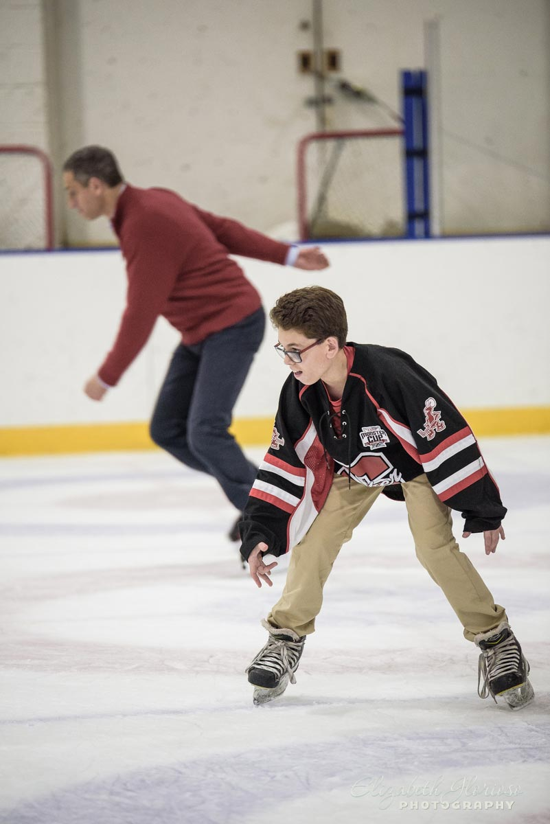 Bar Mitzvah Hockey party Cleveland Skating Club