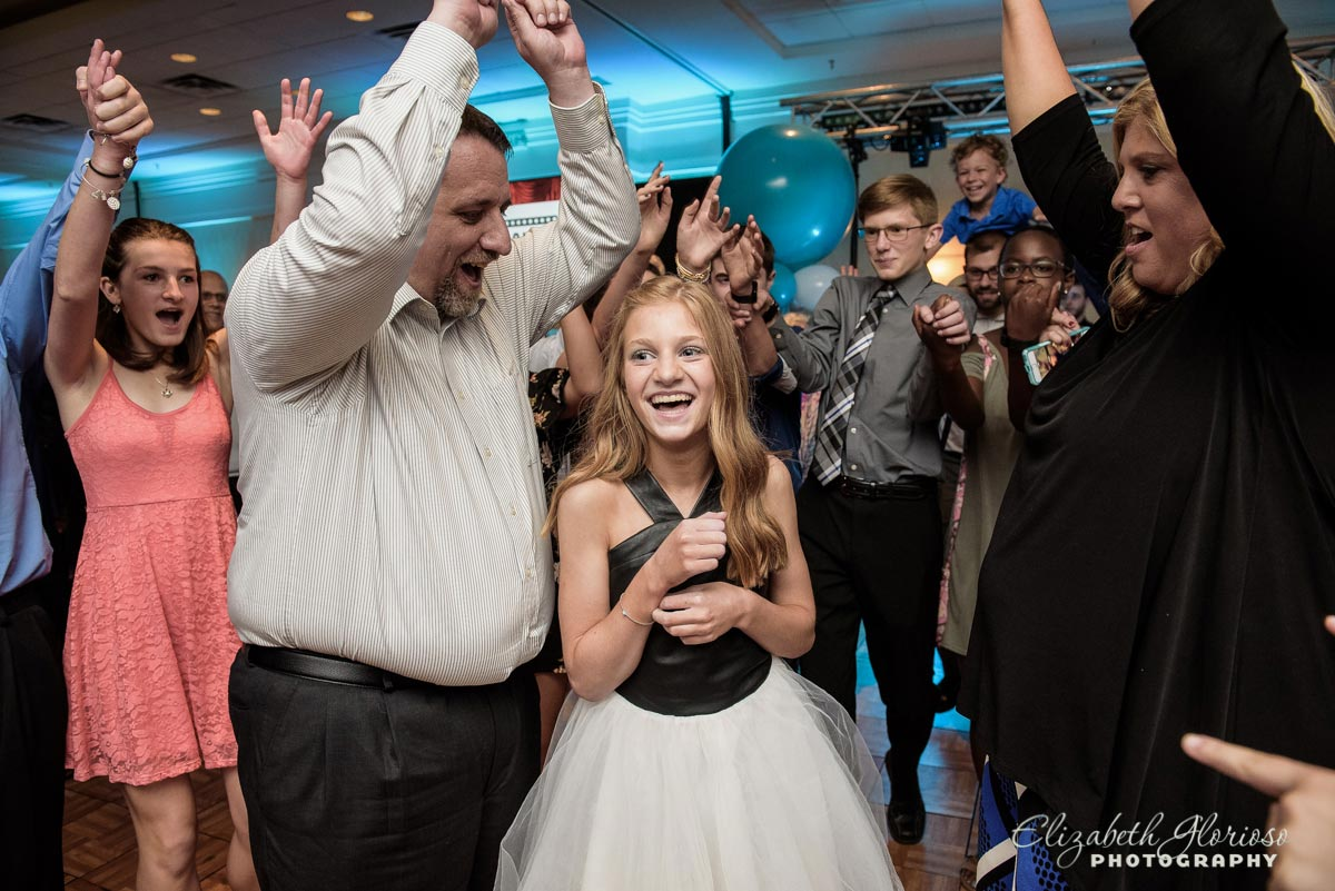 Bat Mitzvah Girl dance party Beachwood Ohio
