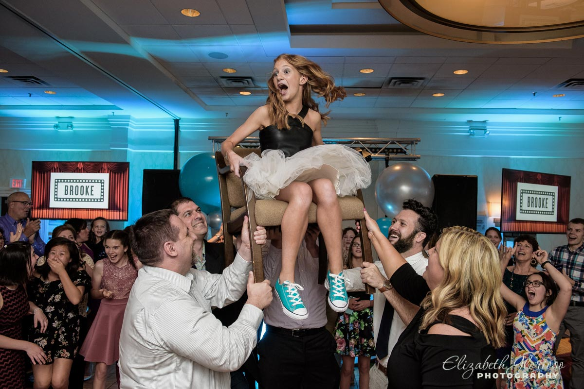 Bat Mitzvah Girl Hora Beachwood Ohio