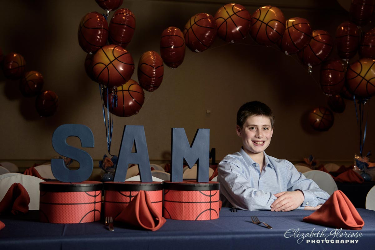 Bar Mitzvah sports party Cleveland Racquet Club Pepper Pike Ohio