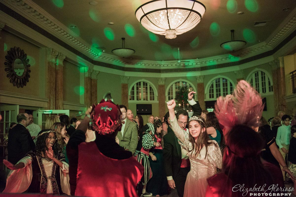 Medieval Bat Mitzvah party at Park Lane Ballroom in Cleveland Ohio