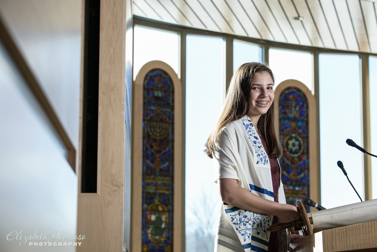 Bat Mitzvah portrait Temple Tifereth Israel Beachwood Ohio