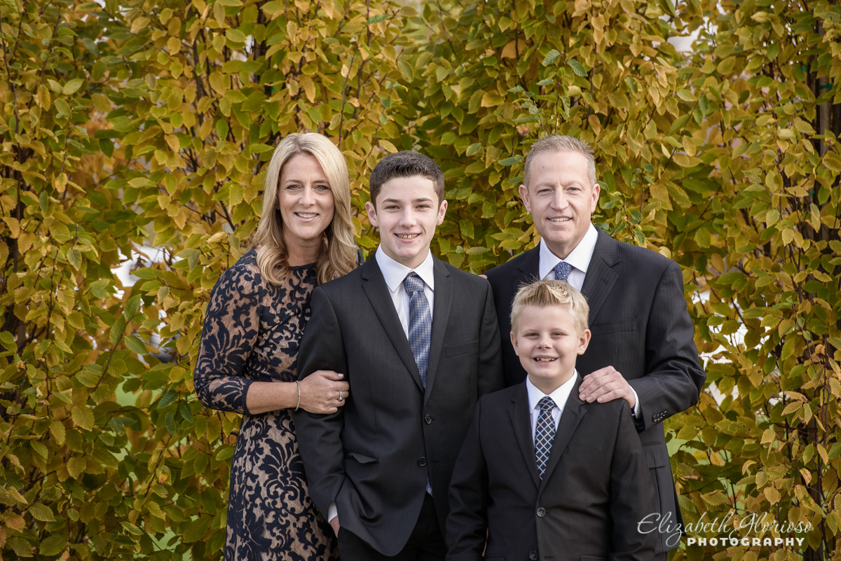 Bar Mitzvah family portrait Temple Tifereth Israel Beachwood Ohio