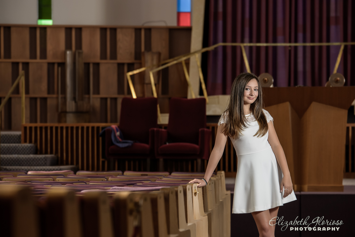 Bat Mitzvah portrait Anshe Fairmount Temple Beachwood Ohio