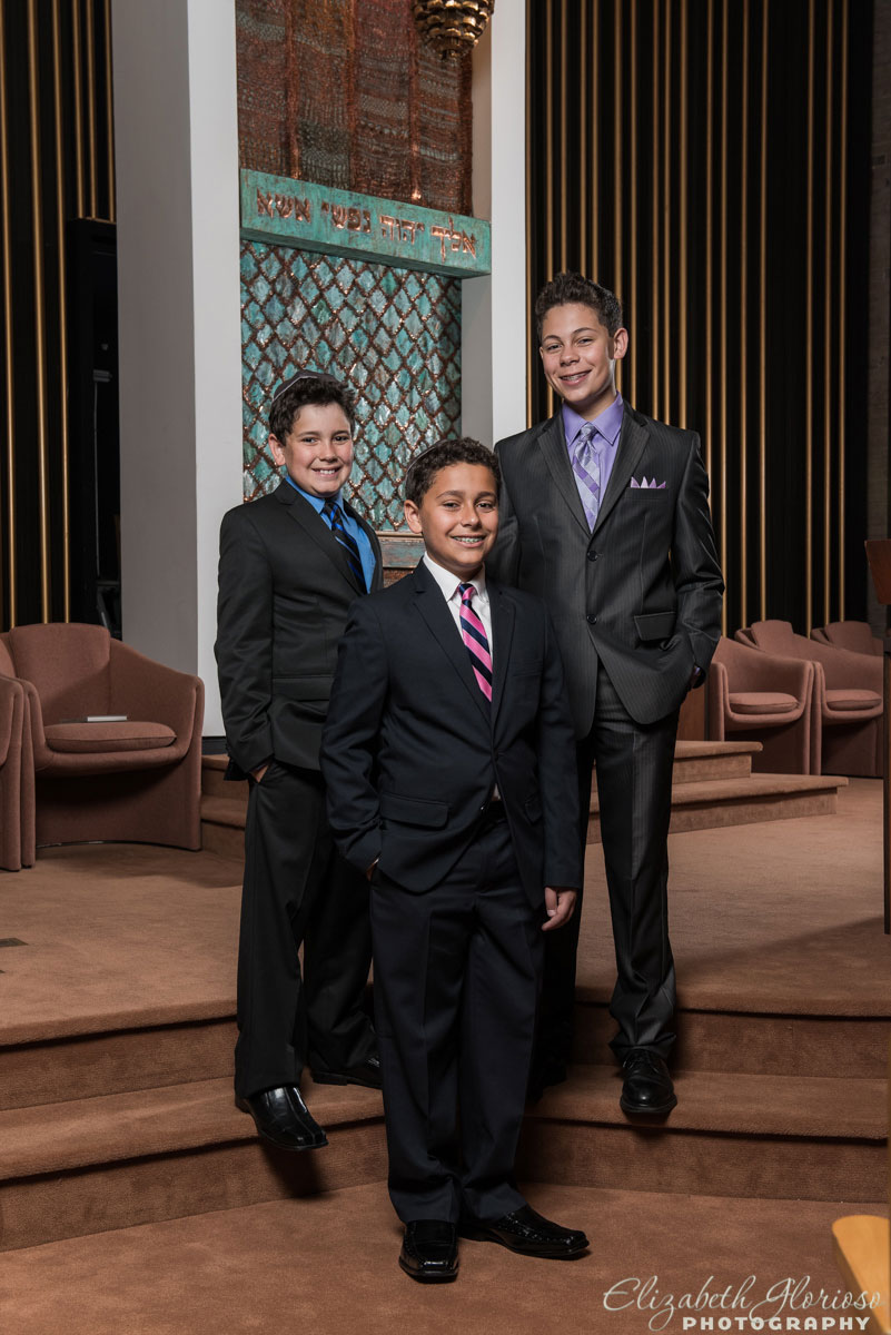 Bar Mitzvah at Suburban Temple in Shaker Heights, Ohio