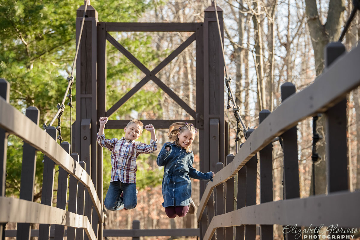 Portrait of children at the Cleveland Metroparks