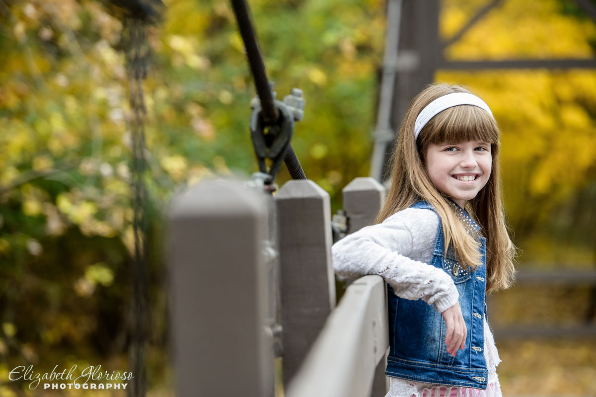 Portrait of girl at the Cleveland Metroparks