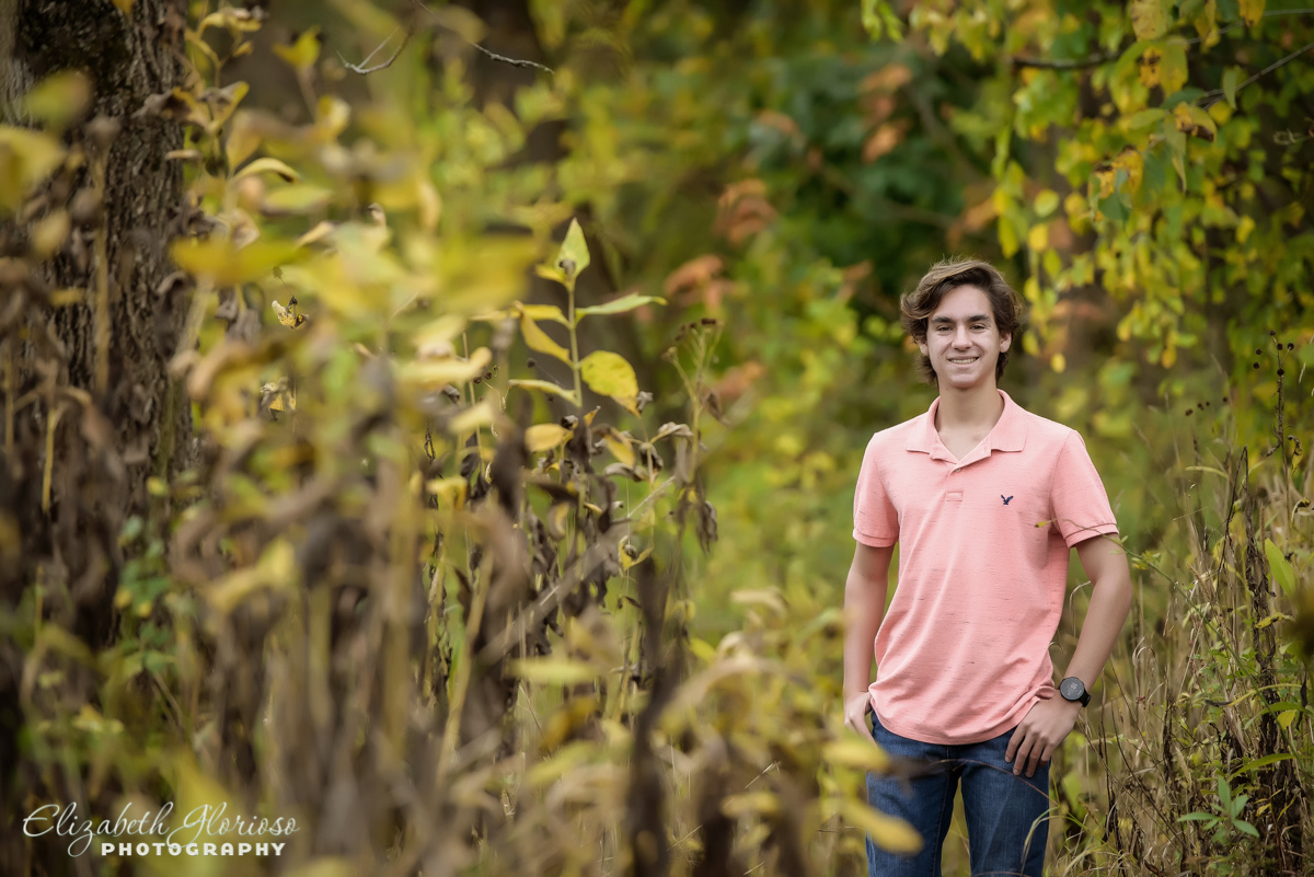 Solon High School Senior picture Cleveland Metroparks