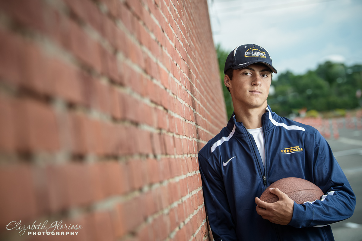 Senior photo Saint Ignatius High School Cleveland Ohio