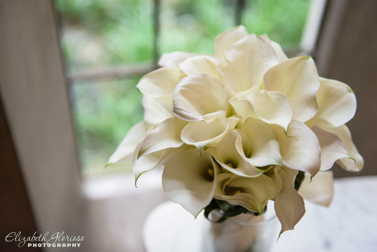 Photo of wedding bouquet taken in Cleveland, OH