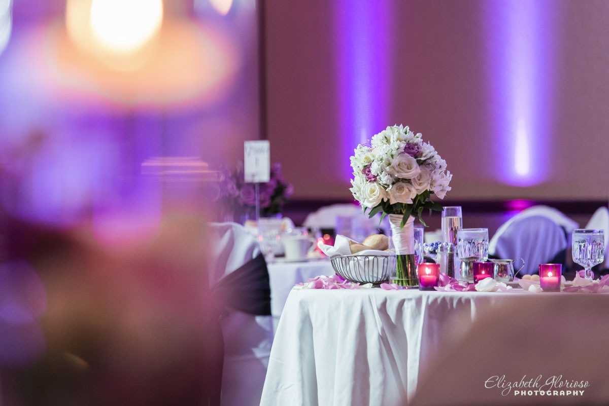 Wedding reception photos at the Marriot Warrensville, OH