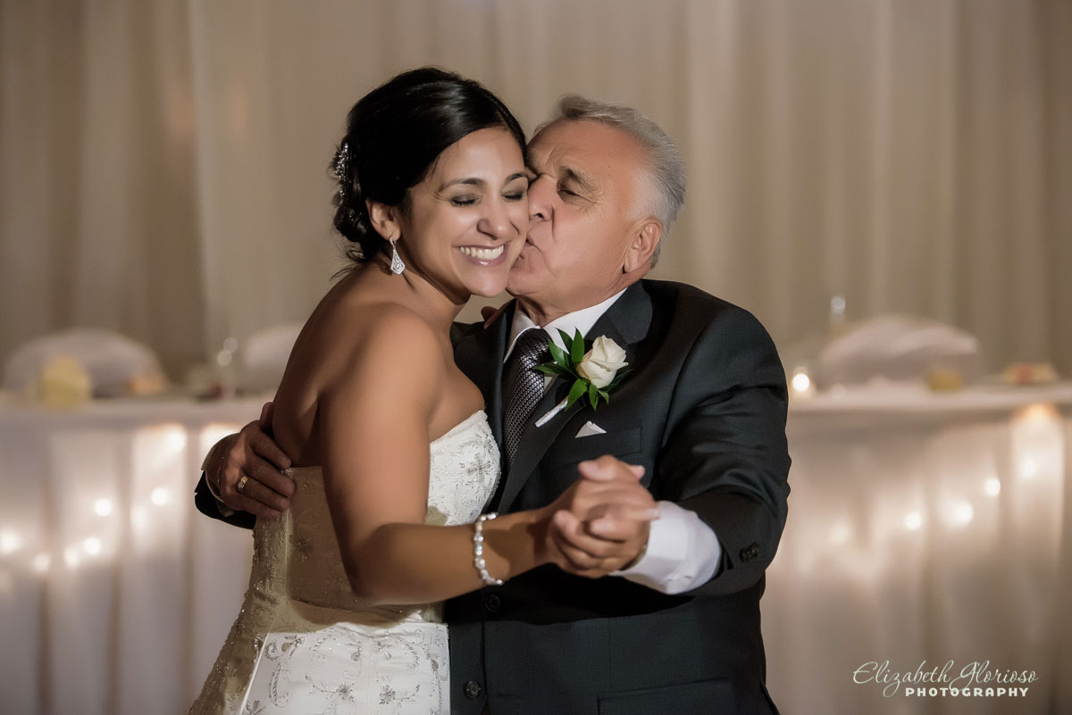 Photo of father/daughter dance taken at the Hilton Double Tree in Beachwood, OH